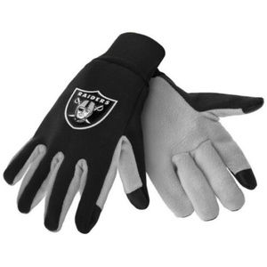 OAKLAND RAIDERS NFL TEXTING TECHNOLOGY GLOVES